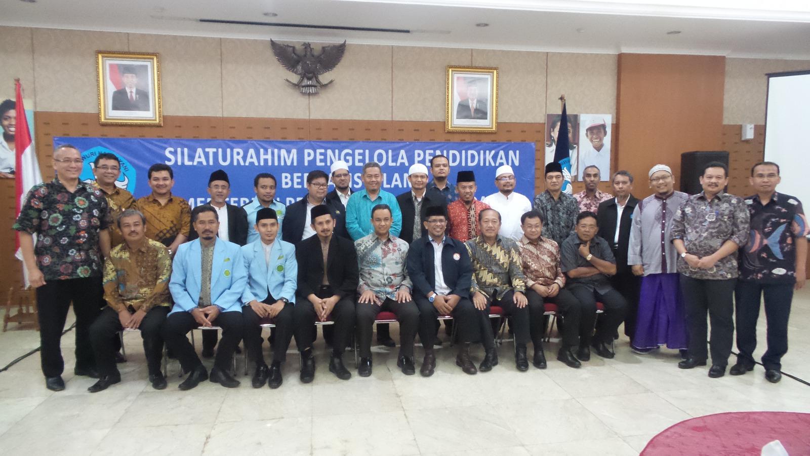 Silaturahim Pengelola Pendidikan Berbasis Islam dengan Kementerian Pendidikan dan Kebudayaan (Bagian I)