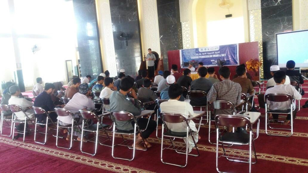Tingkatkan Kompetensi, LTQ WI Gelar Pelatihan Imam Dan Da'i