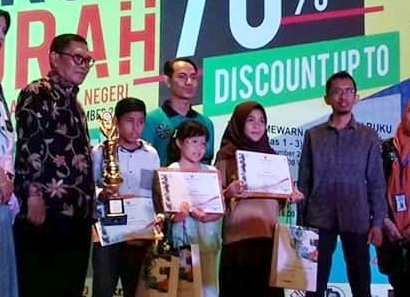 SD Wahdah Meraih Juara Pertama Lomba Rangking 1 Se-Kota Makassar