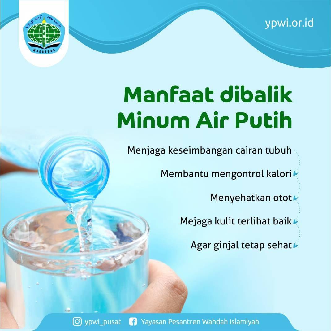 Manfaat dibalik Minum Air Putih
