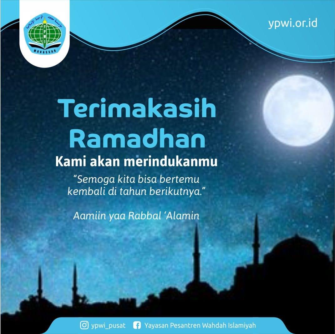 Terima Kasih Ramadhan